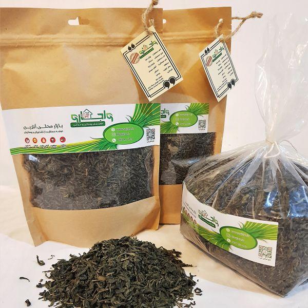 چای سبز املش