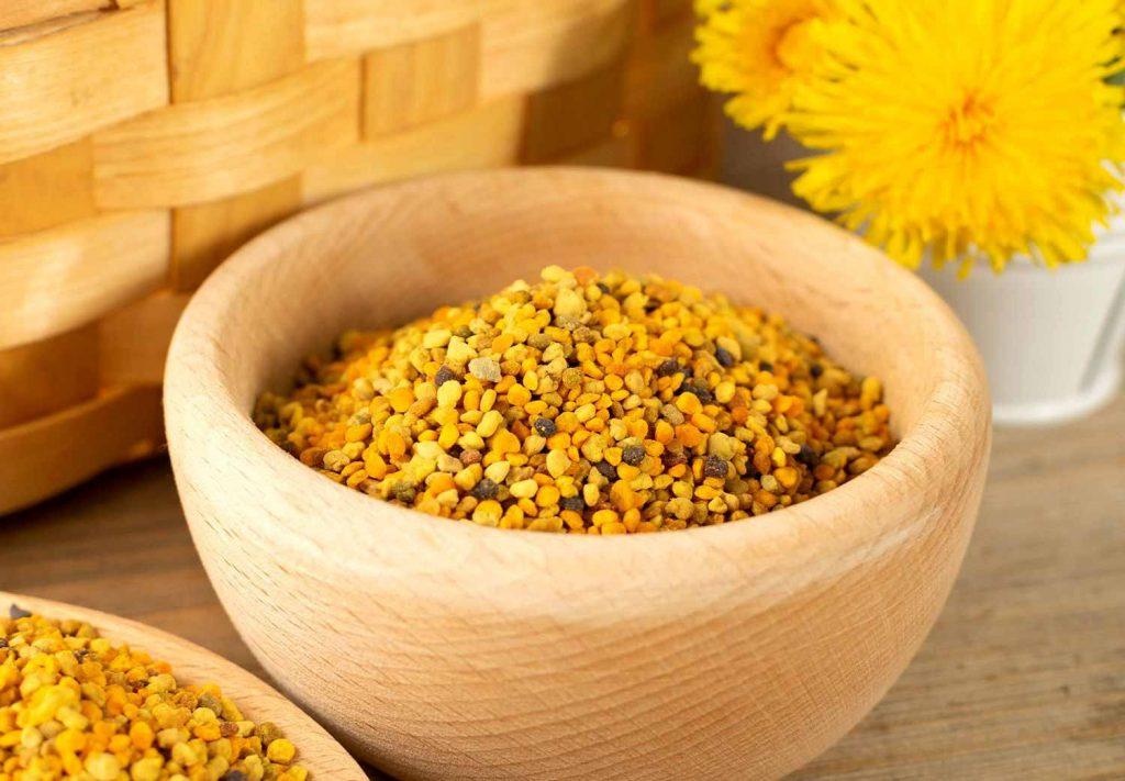 مصرف گرده گل برای بدن بسیار مفید میباشد.
