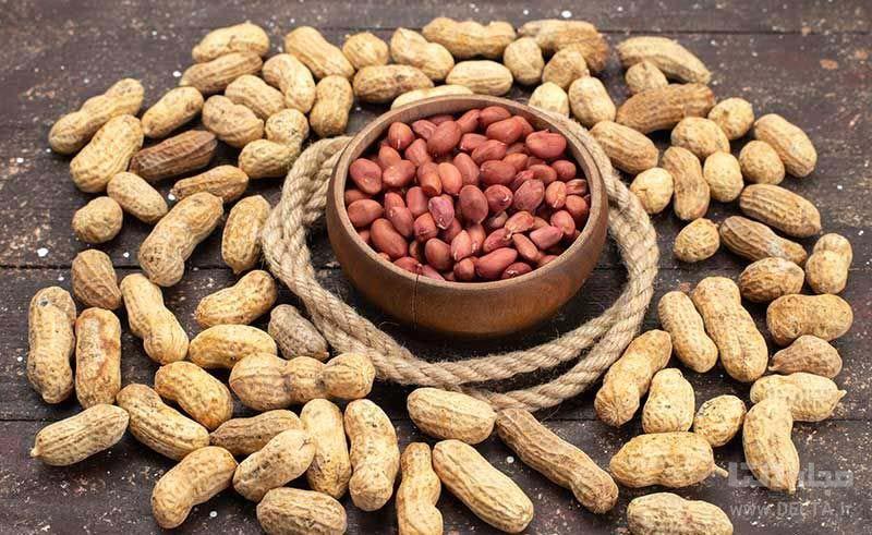 بادام زمینی سرشار از مواد مغذی میباشد.
