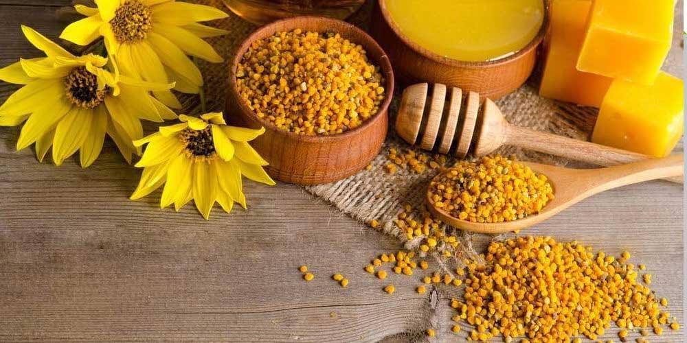 مصرف گرده گل برای درمان کم خونی توصیه می شود.