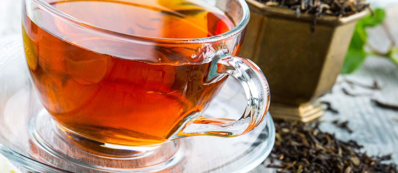 چای برای ترمیم و بازسازی پوستهای آسیب دیده مناسب است.