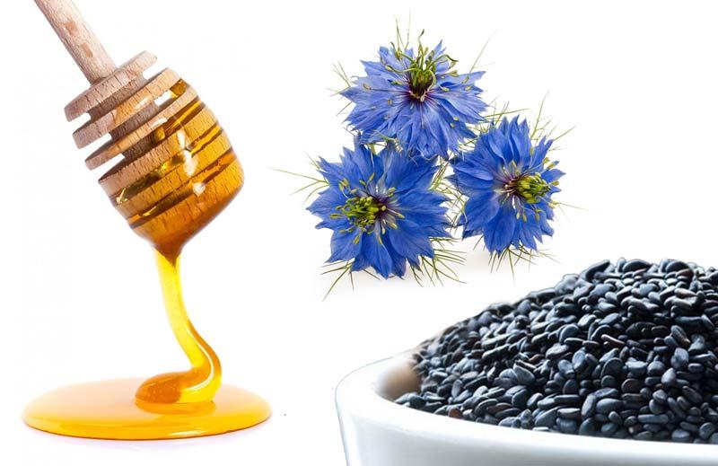 سیاه دانه شفابخش حاوی زینک، کلسیم، پتاسیم، سلنیوم، کاروتن و ویتامینهای مختلف است.