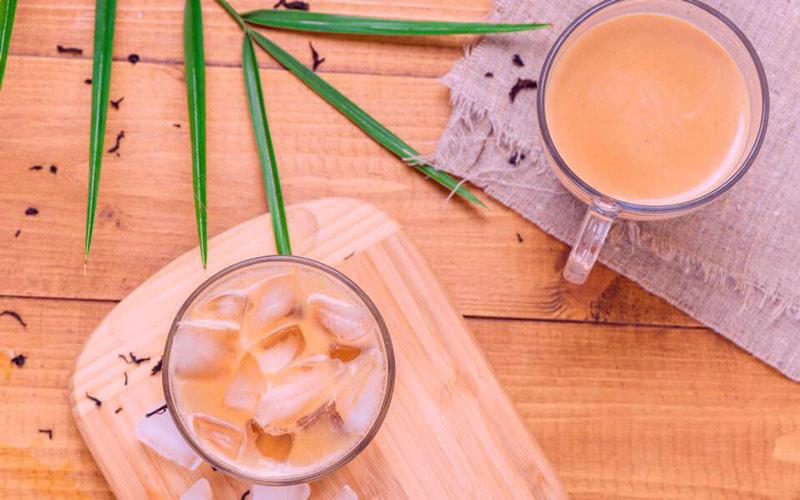 شیر چای ترکیبات مفیدی دارد.