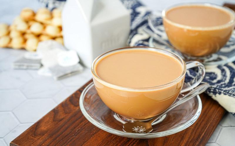 شیر چای برای کاهش وزن بسیار مفید است.