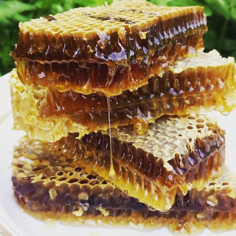 طبع عسل و دارچین هر دو گرم است.